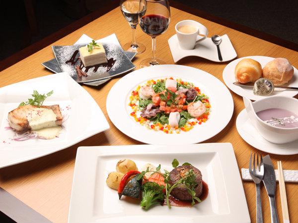 道産牛ステーキとお魚ソテーディナー ※写真はイメージです