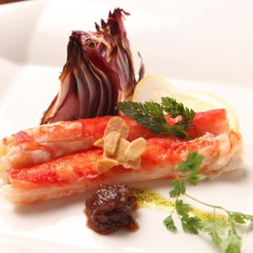 タラバ蟹のソテー ※写真はイメージです