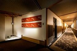 2016年7月リニューアルオープンの露天風呂付客室「山水雪月華」フロア一例