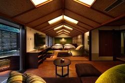 露天風呂付客室「翠(すい)」山側客室一例