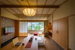 2015年2月リニューアルOPEN!の新客室「ふうわり」を特別価格でご宿泊頂けます。