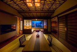 2017年2月リニューアル高層階(10階〜12階)の絶景新客室「あかり」客室一例