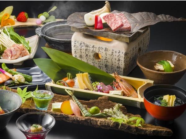 栃木県を代表する黒毛和牛「とちぎ和牛」のステーキ付和膳をお部屋でお召し上がりいただけます♪