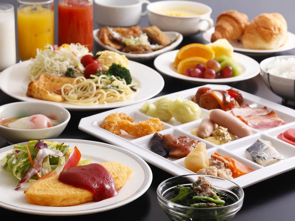 朝食バイキング(一例です)