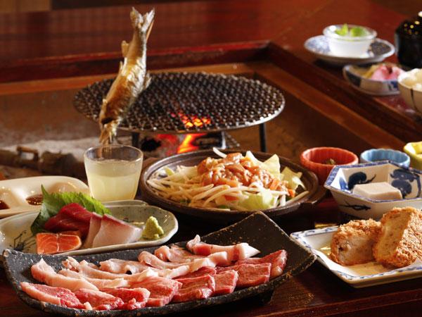 お肉にB級グルメ!お腹大満足!(^^)!(イメージ)