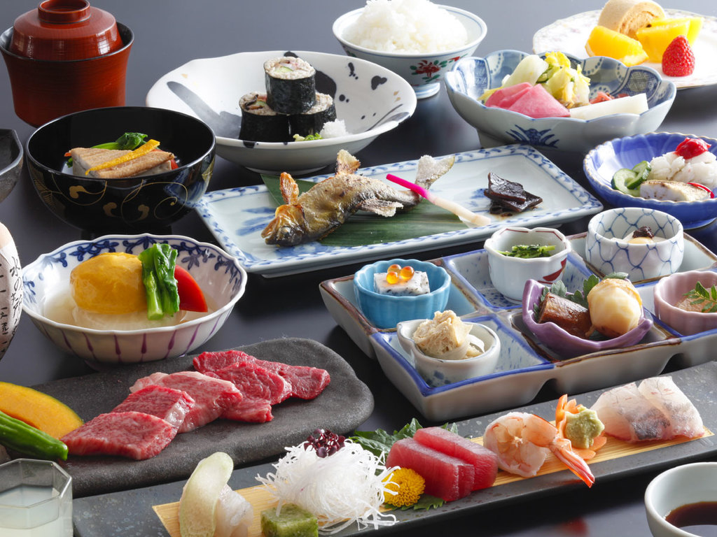 和食 特撰飛騨牛食べ比べ会席(イメージ)