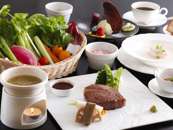 冬の飛騨牛ステーキディナー(イメージ)