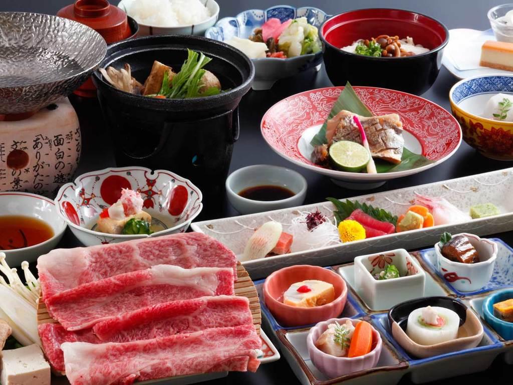 和食「飛騨牛味覚会席」(イメージ)