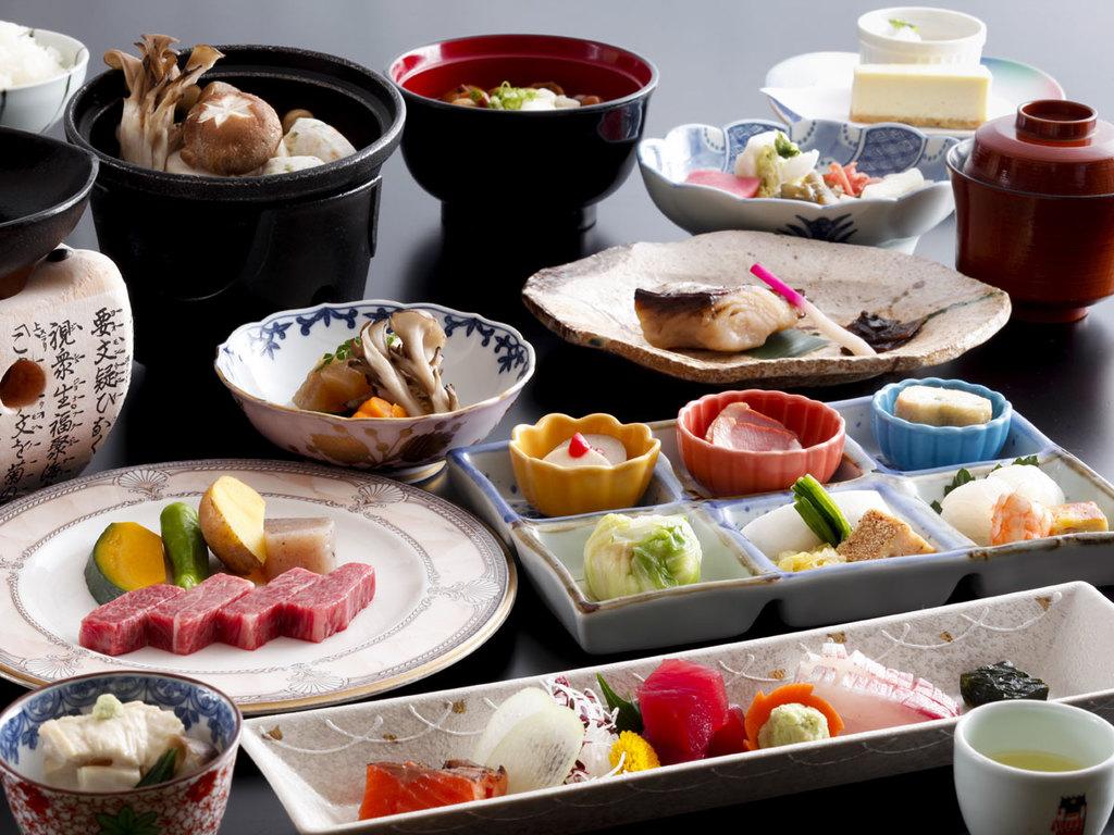 日本料理「冬の飛騨の味覚会席」(イメージ)