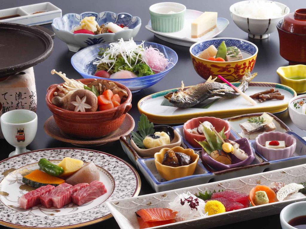 日本料理「緑亭」味覚会席(イメージ)