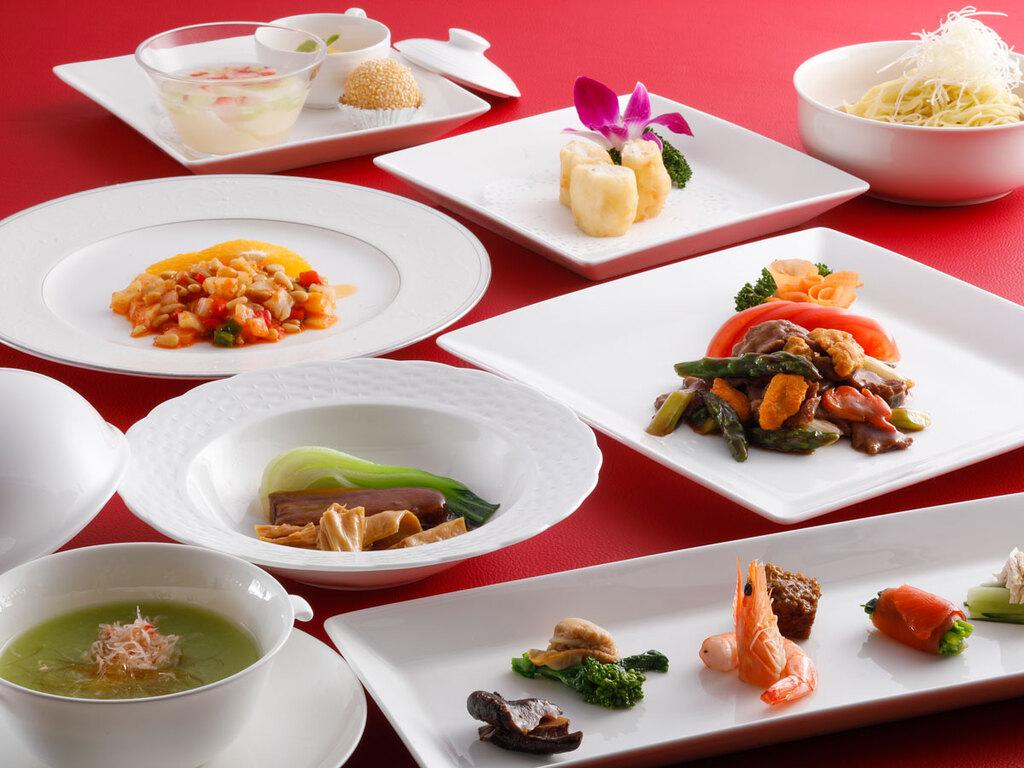 春の本格広東コース料理(一例)