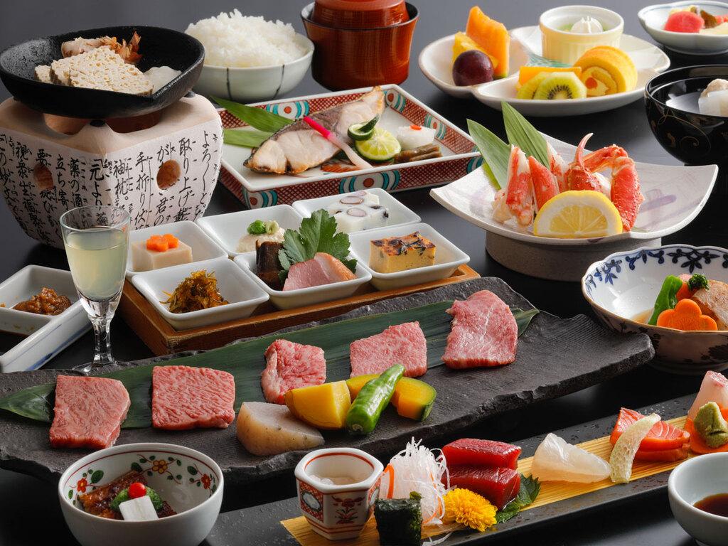 日本料理「緑亭」 特選会席(一例)