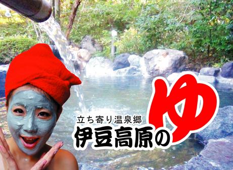 ★家路の途中,伊豆高原の湯で★ひとっ風呂★