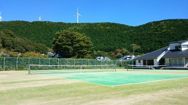 ★ご宿泊代にテニスコート代が含まれております★
