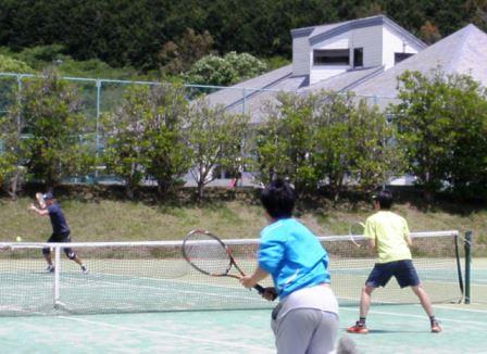 ★テニスコートの料金は宿泊代に含まれております★