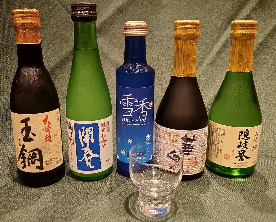 嬉しい島根の地酒付!!(ご夕食時にお選びいただけます)