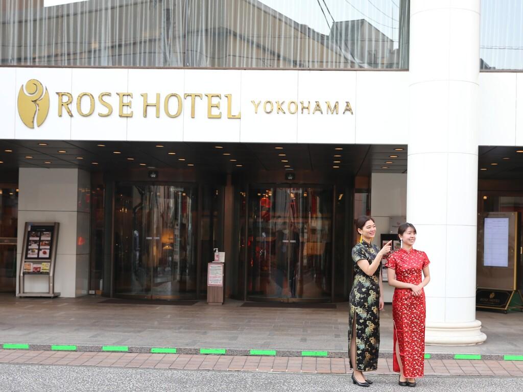 浴衣を着て横浜&中華街へ!