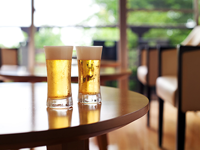 湯上りビール
