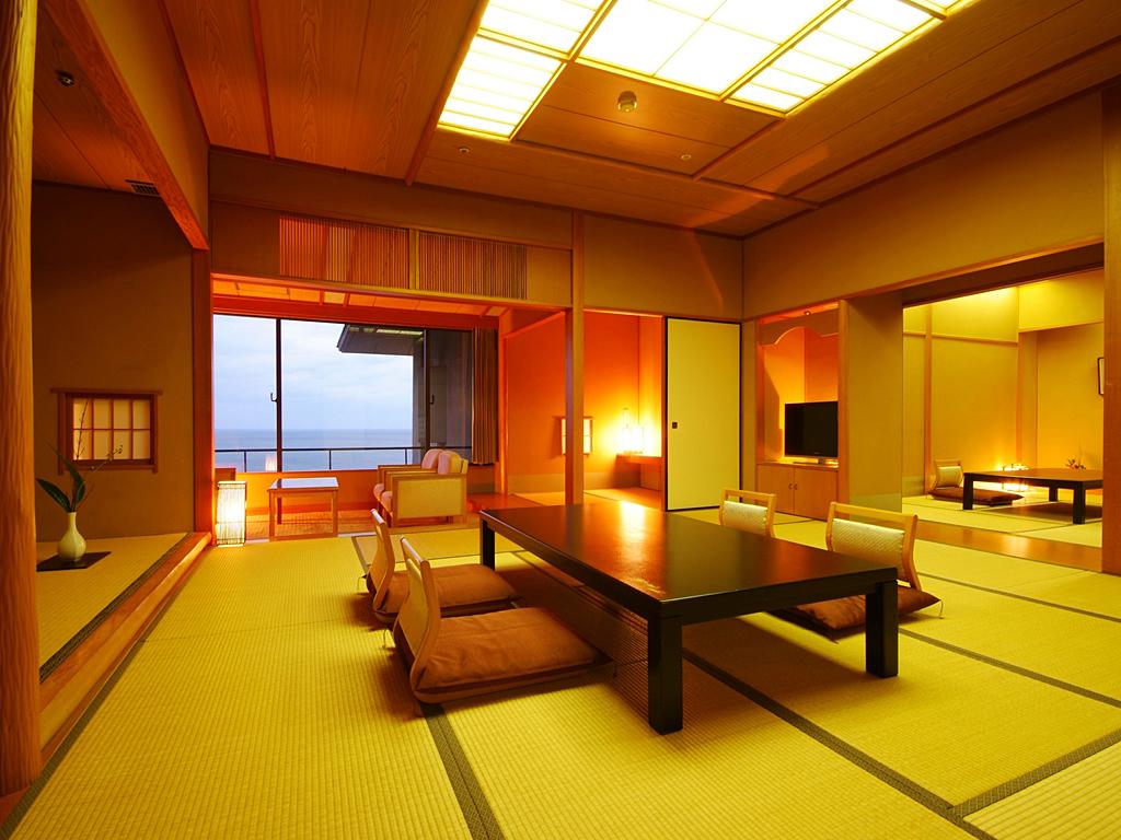 ●岬の館 大部屋客室一例