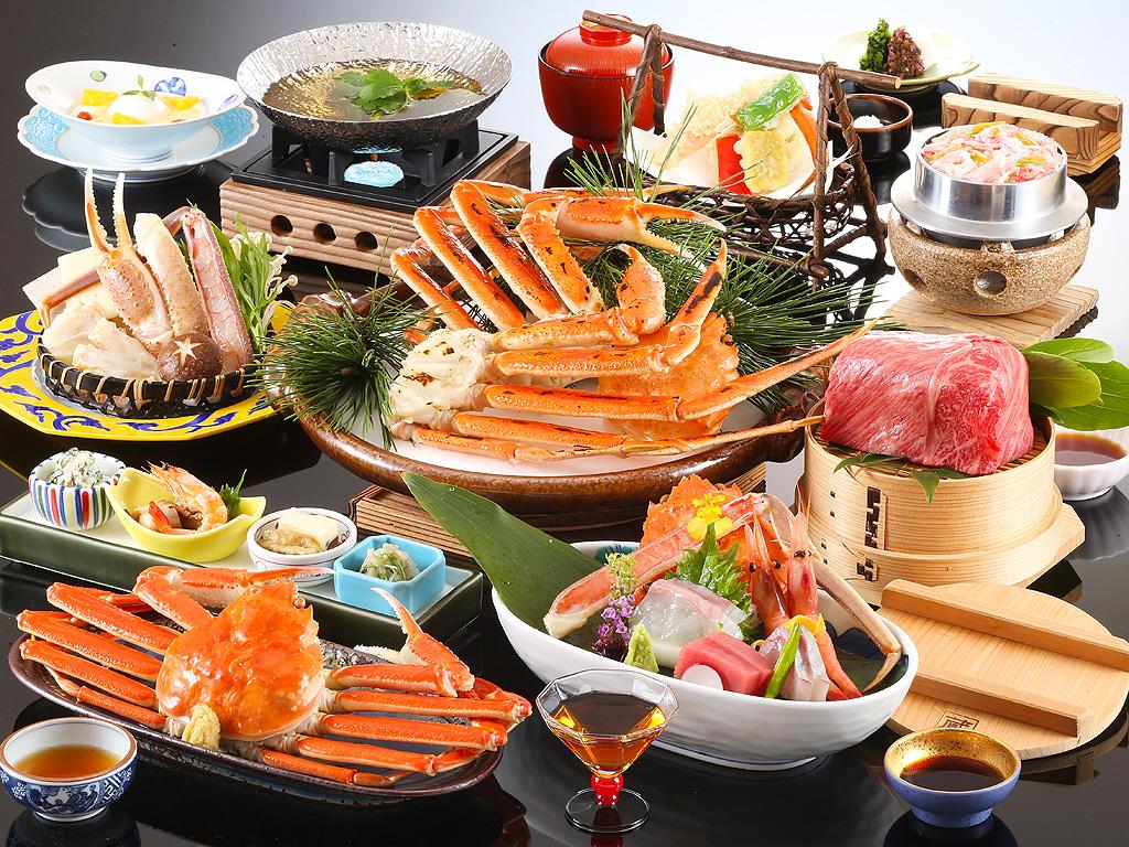 ●お料理 かにフルコース イメージ
