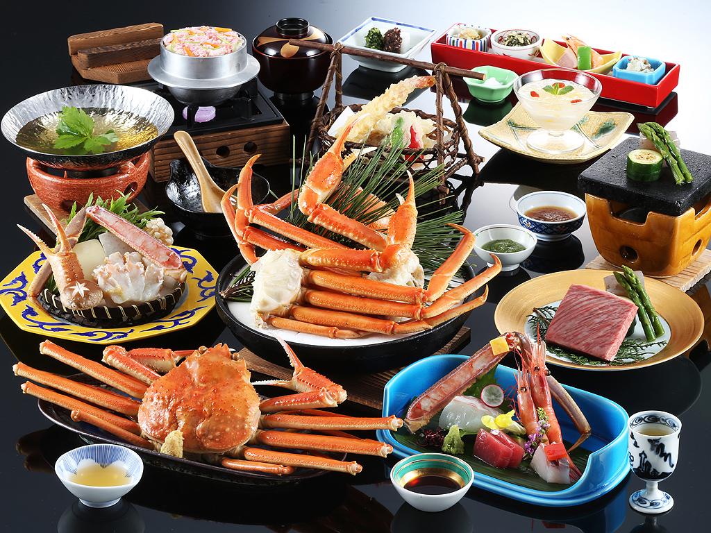 Snow Crab Full Cource Kaiseki Dinner