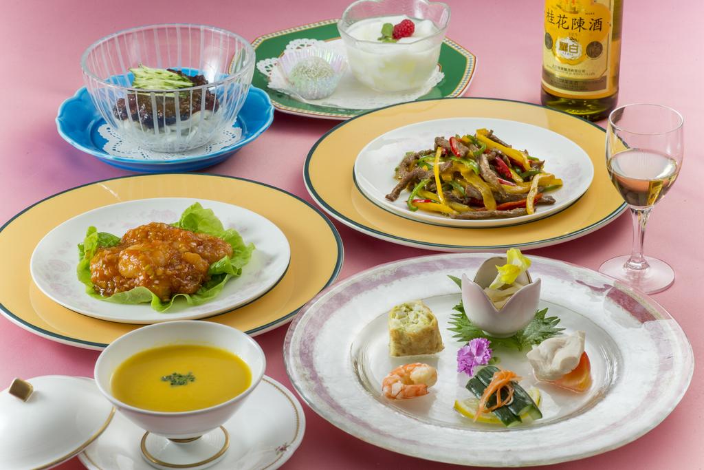 中国料理 レディースコース 〜夏〜 ※イメージ