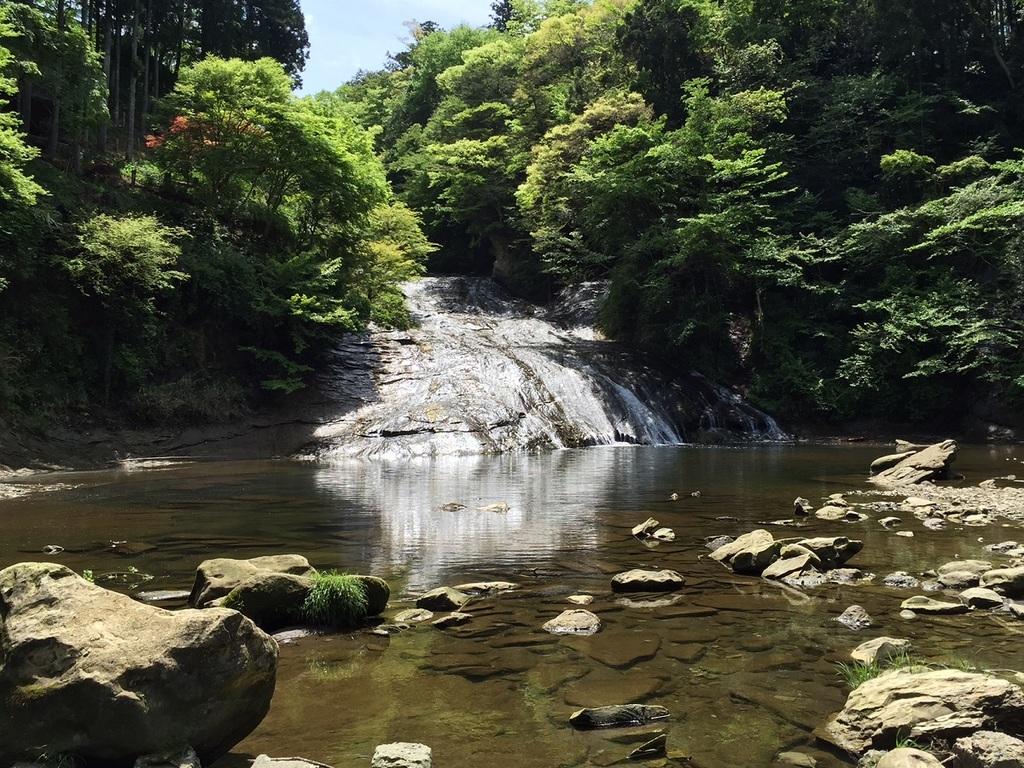 滝見苑より徒歩約5分【粟又の滝】