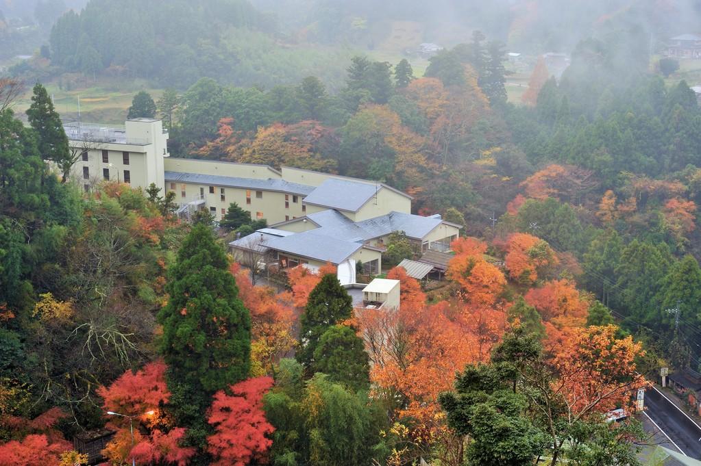秋の滝見苑