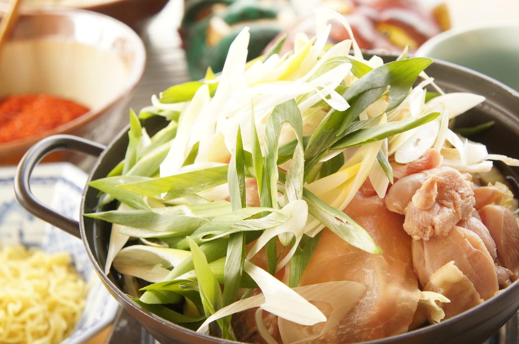 桃太郎鍋一例