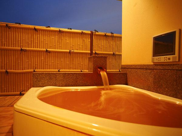 露天風呂付き客室菩提樹の間