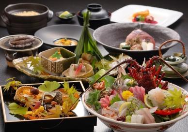 旬の素材を存分に生かした鮮味選菜美  (※お料理の内容は季節により異なります)