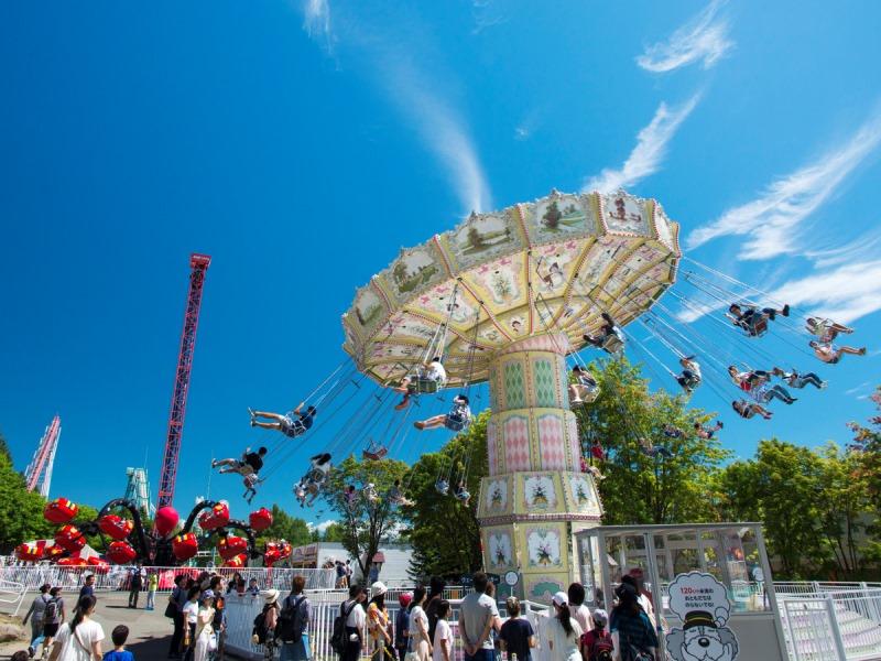 ≪ルスツリゾート遊園地≫<br>風と緑を感じながら、楽しく元気に遊ぼう