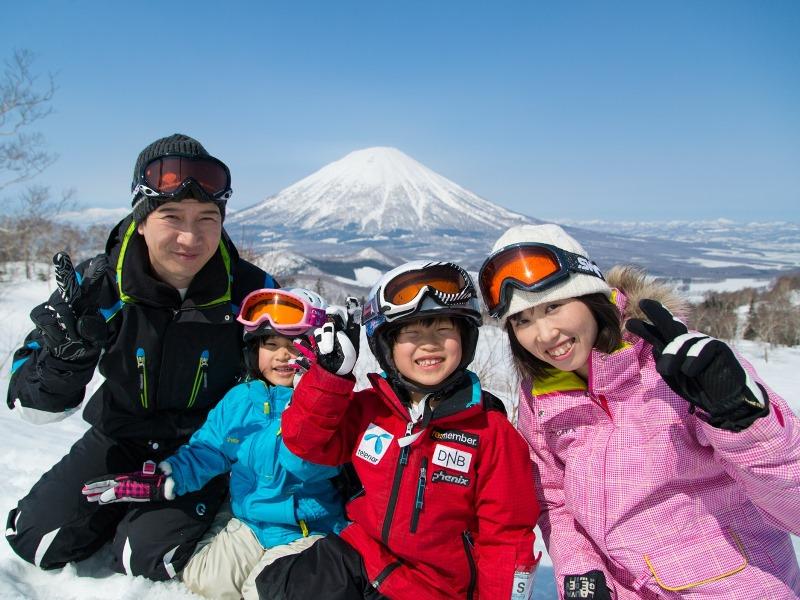 家族旅行<br>今年の冬もいっぱい思い出作ろうね。
