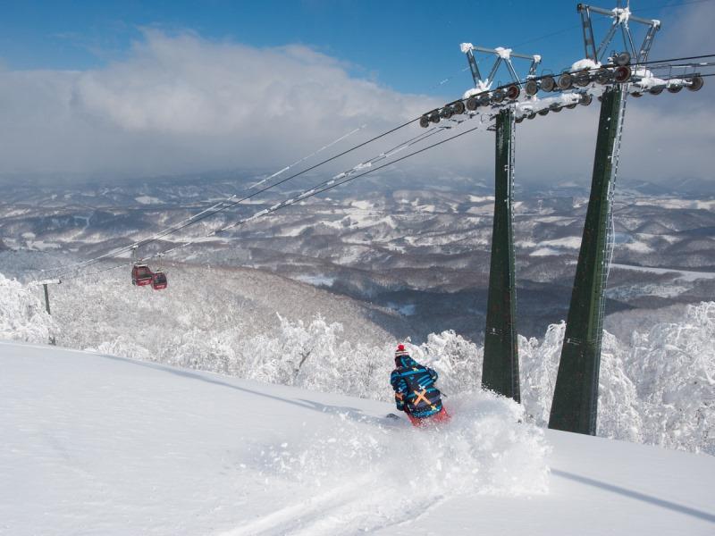 ≪ルスツリゾートスキー場≫<br>新年滑り始めはルスツから♪