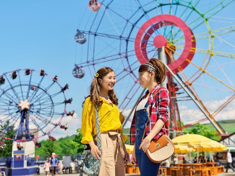 ≪ルスツリゾート遊園地≫利用日選んで1日遊び放題!