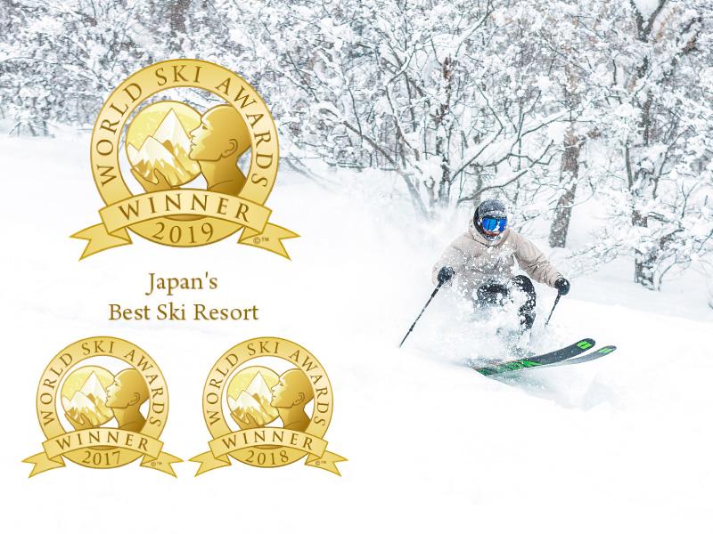 【ワールドスキーアワード】「日本最優秀賞」連続受賞のリゾート<br>道内屈指のパウダースノーを心ゆくまでぜひ。