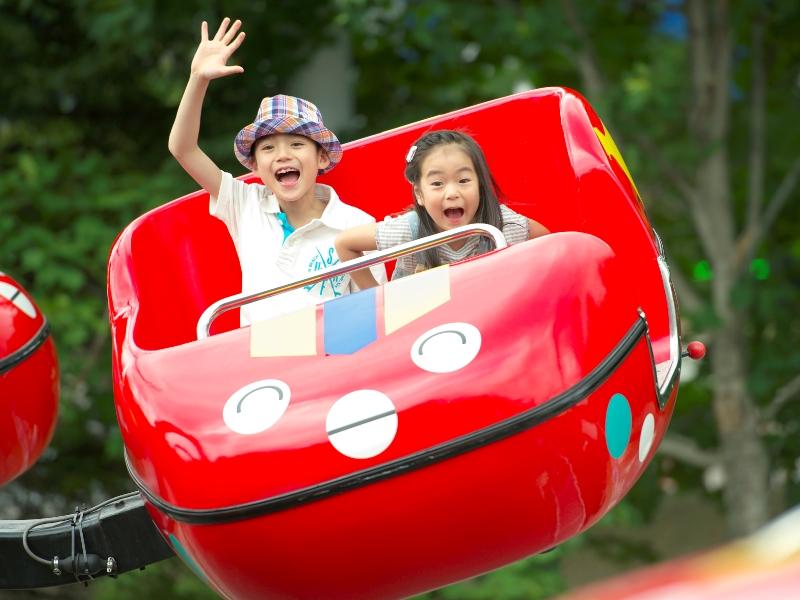 ≪ルスツリゾート遊園地≫子供に人気!モンスター