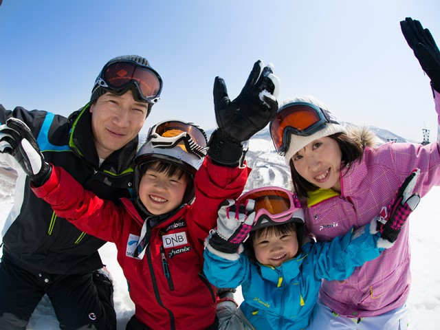 You and your family will definitely love your choice of staying at Rusutsu Resort!