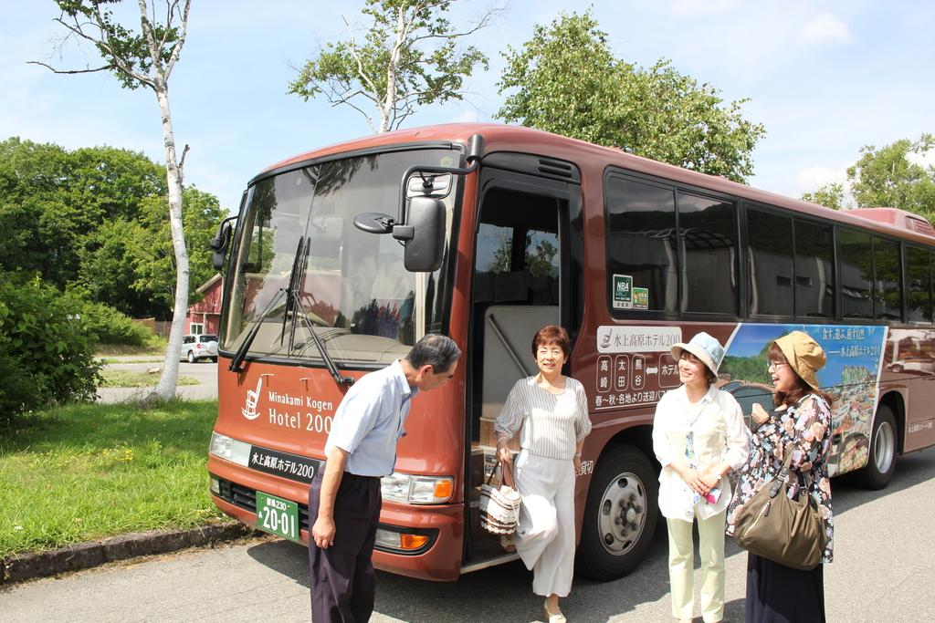 高崎からホテル玄関に!楽々バスの旅