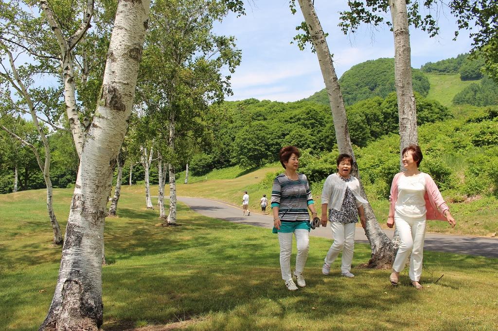200万坪の広大な高原リゾートで、時間を気にせずお過ごしください。