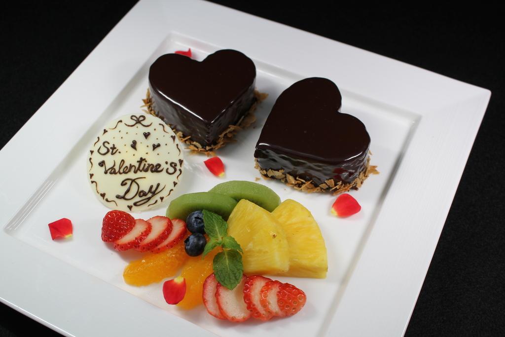 お料理すべては二人のための特別コース♪ ※バレンタインケーキ