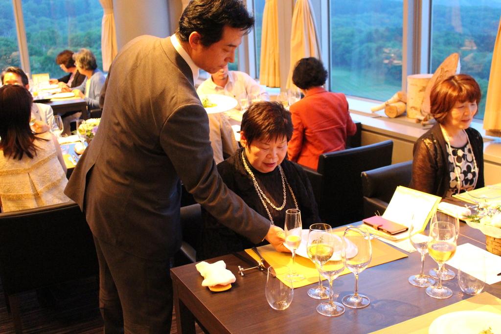 ご夕食「みなかみイタリアン」をごゆっくりお楽しみください