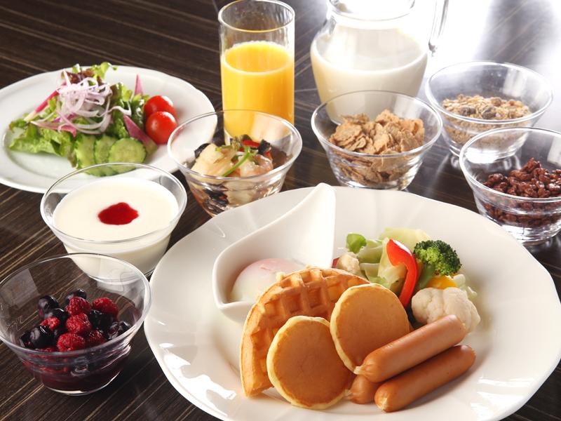 大人気!コンパスの朝食ブッフェ