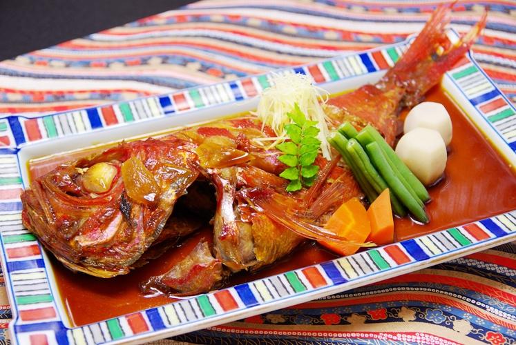 金目鯛煮付のイメージです