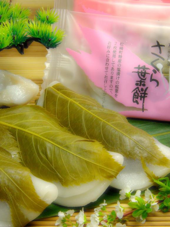 【特典】桜葉餅(6個入)1組に付き1箱サービス♪
