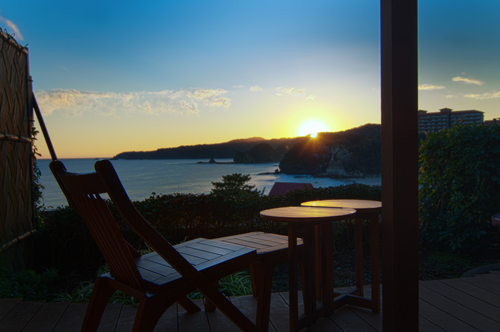 お部屋からの夕景イメージ