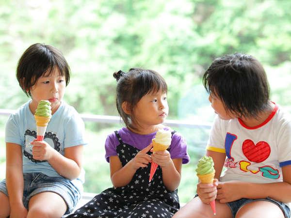 ソフトクリーム大好き☆
