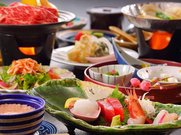 当館1番人気の「華の膳」
