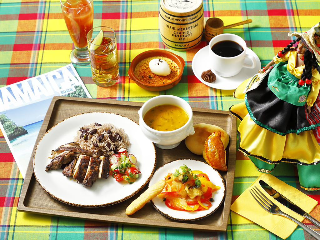 ランチまたはディナーでお楽しみいただける「世界周遊プレート」6月からは情熱の国スペインへ