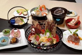 鮑・伊勢海老を含む特別会席料理